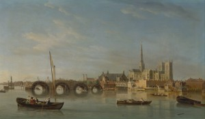 The Building of Westminster Brigde, S. Scott